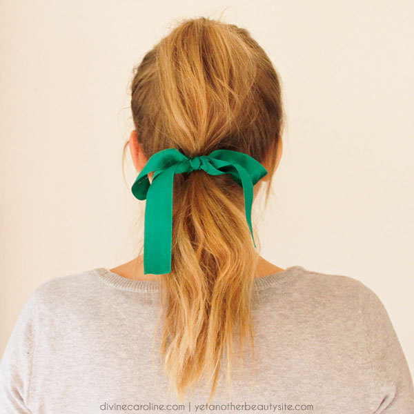 Brilliant 3 Cute Hairstyles Featuring Hair Ribbons More Com Hairstyles For Women Draintrainus