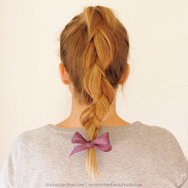 Prime 3 Cute Hairstyles Featuring Hair Ribbons More Com Hairstyles For Women Draintrainus