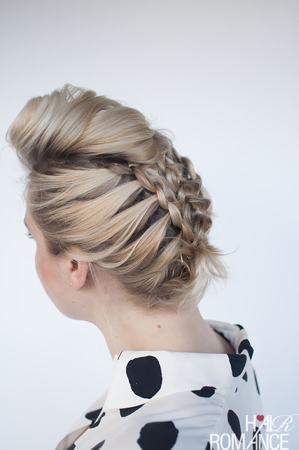30 best prom hairstyles for short hair more pmusecretfo Choice Image