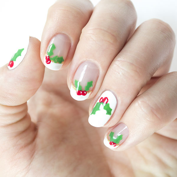 Christmas nails have a holly jolly mani more prinsesfo Gallery