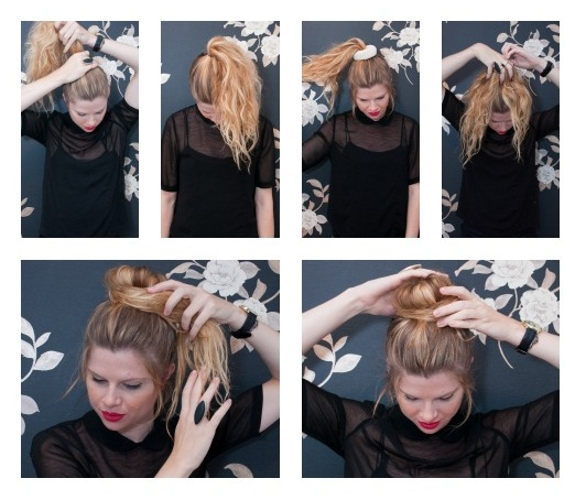 Discover the secret to the perfect sock bun for short hair more an error occurred pmusecretfo Gallery