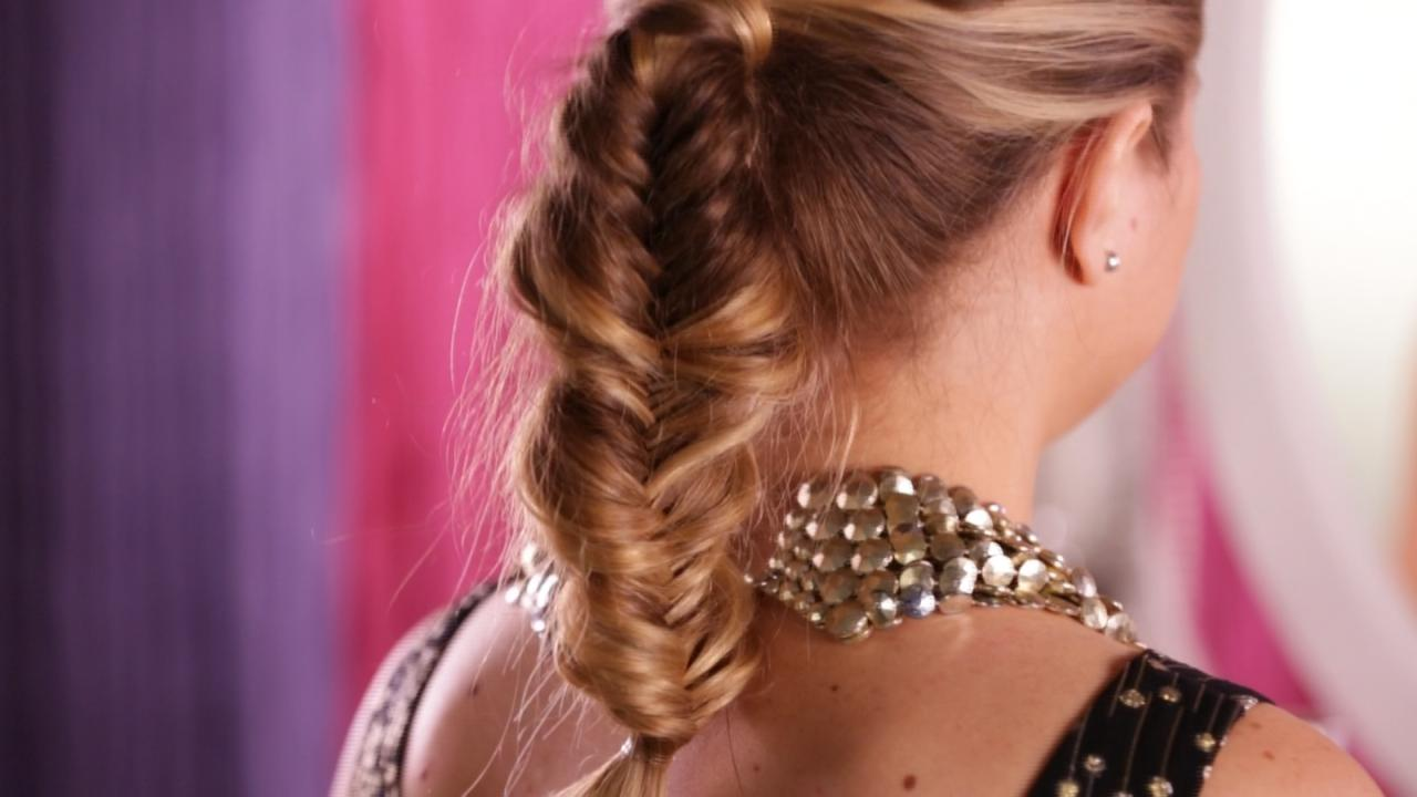 How To Make A Fishtail High Ponytail