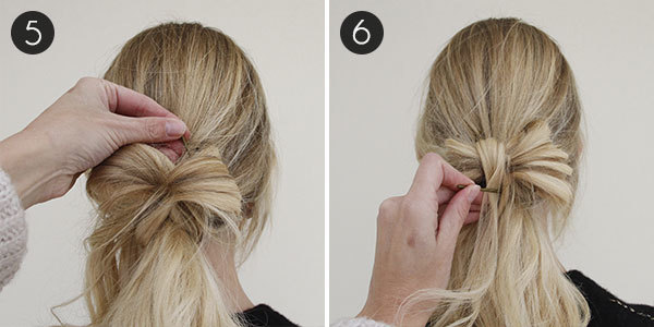 Cool Hair How To Low Ponytail With An Accent Bow More Com Short Hairstyles Gunalazisus