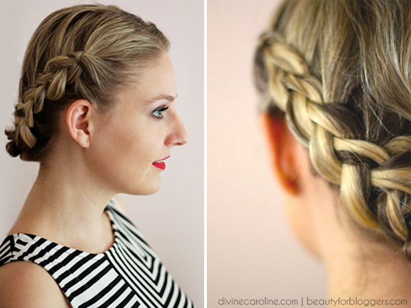 Hairstyle How-To: Easy Braids For Short Hair