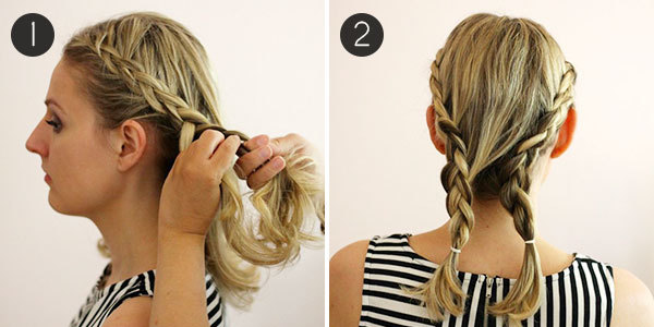 Hairstyle HowTo Easy Braids For Short Hair Morecom - Hairstyles for short hair and easy