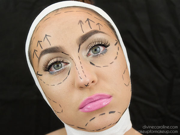 Easy, Eerie Pre-Plastic Surgery Halloween Makeup Look | more.com