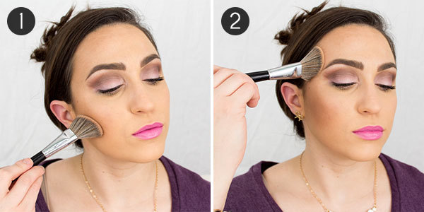 How to apply bronzer without looking like a clown more how to apply bronzer for contouring ccuart Images
