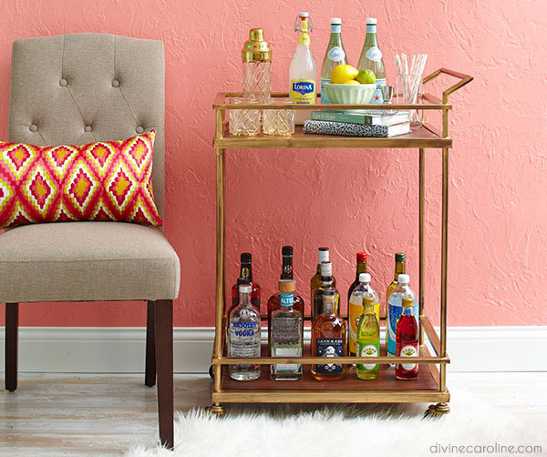 How to Stock a Bar Cart