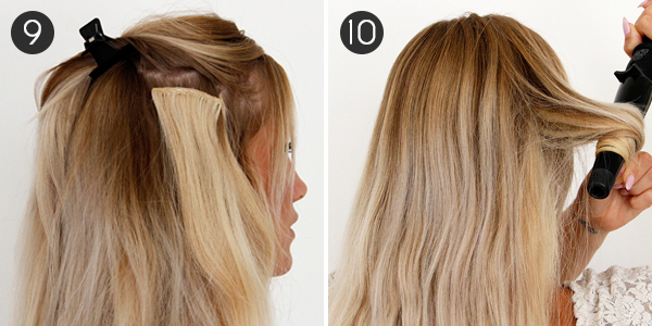 Best way to hide hair extension clips tape on and off extensions best way to hide hair extension clips 72 pmusecretfo Images