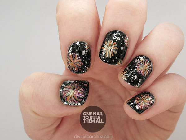 Nail Designs For The New Year
