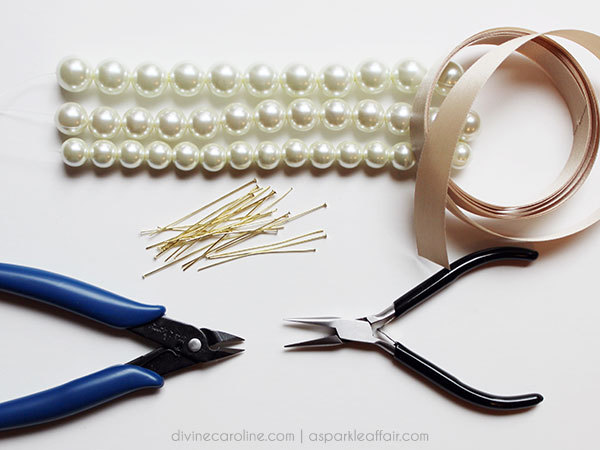 Make Your Own Pearl Cluster Necklace More Com