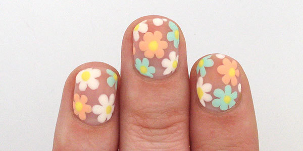 Negative space flower nail art tutorial more negative space flowers nail art tutorial prinsesfo Gallery