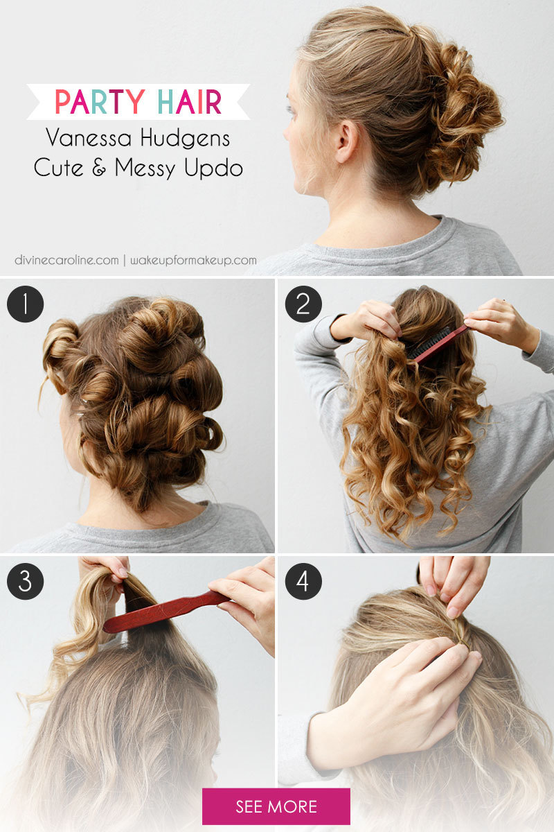 Cute Party Updo Hairstyles - Hairstyles By Unixcode