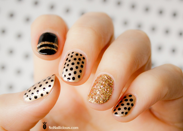 All that glitters gold nail designs we love more prinsesfo Gallery