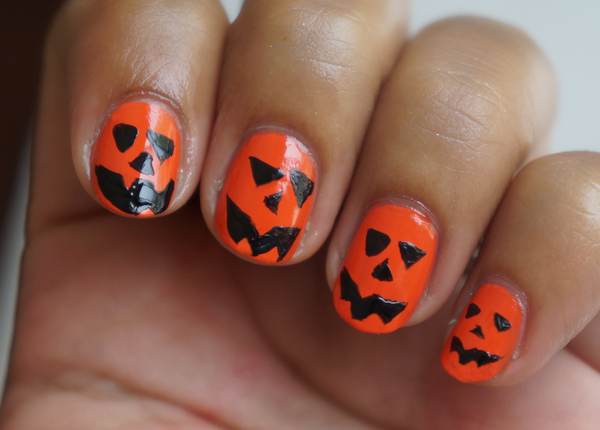 Easy halloween nail designs for beginners more prinsesfo Choice Image