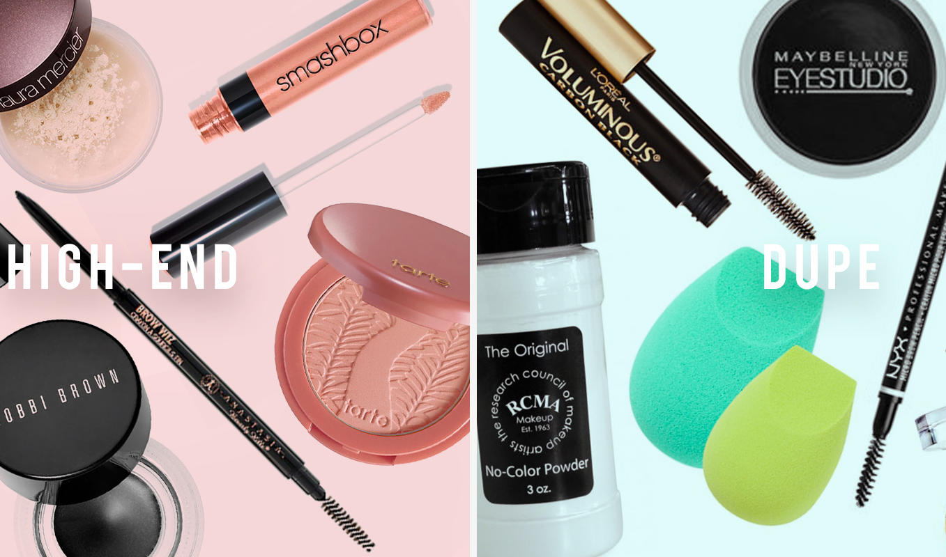 Splurge vs. Save: Luxury Makeup Products And Their Drugstore Dupes
