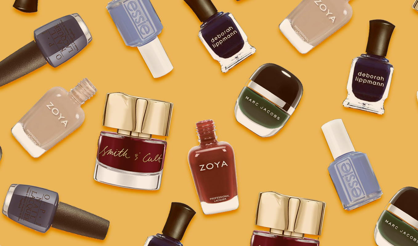 autumn nail polish