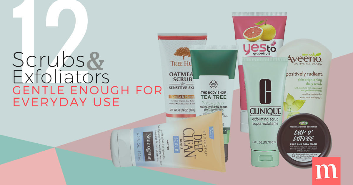 14 Scrubs And Exfoliators Gentle Enough For Everyday Use