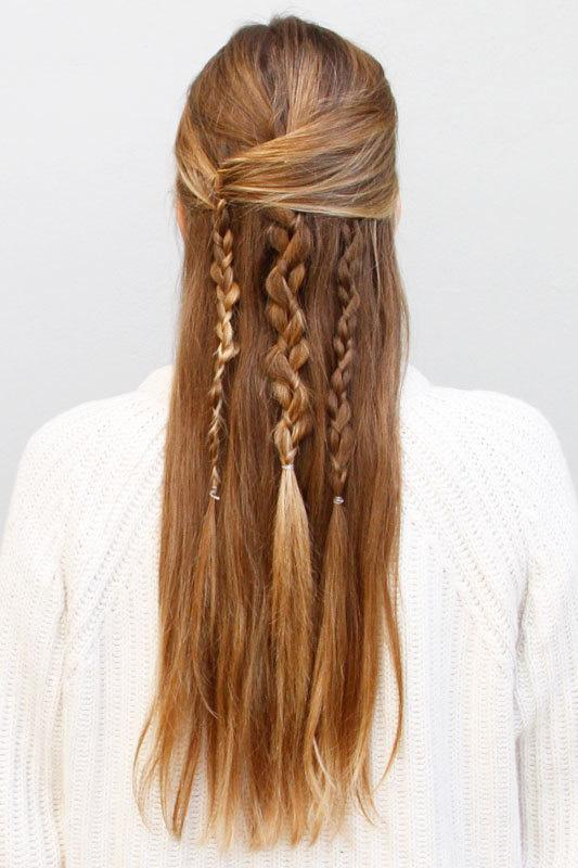 how to make boho braid