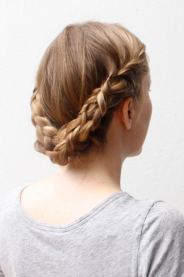 Youtube Updo Hairstyles For Long Hair: Elevate Your Braided Updo With A Lovely Lace Braid