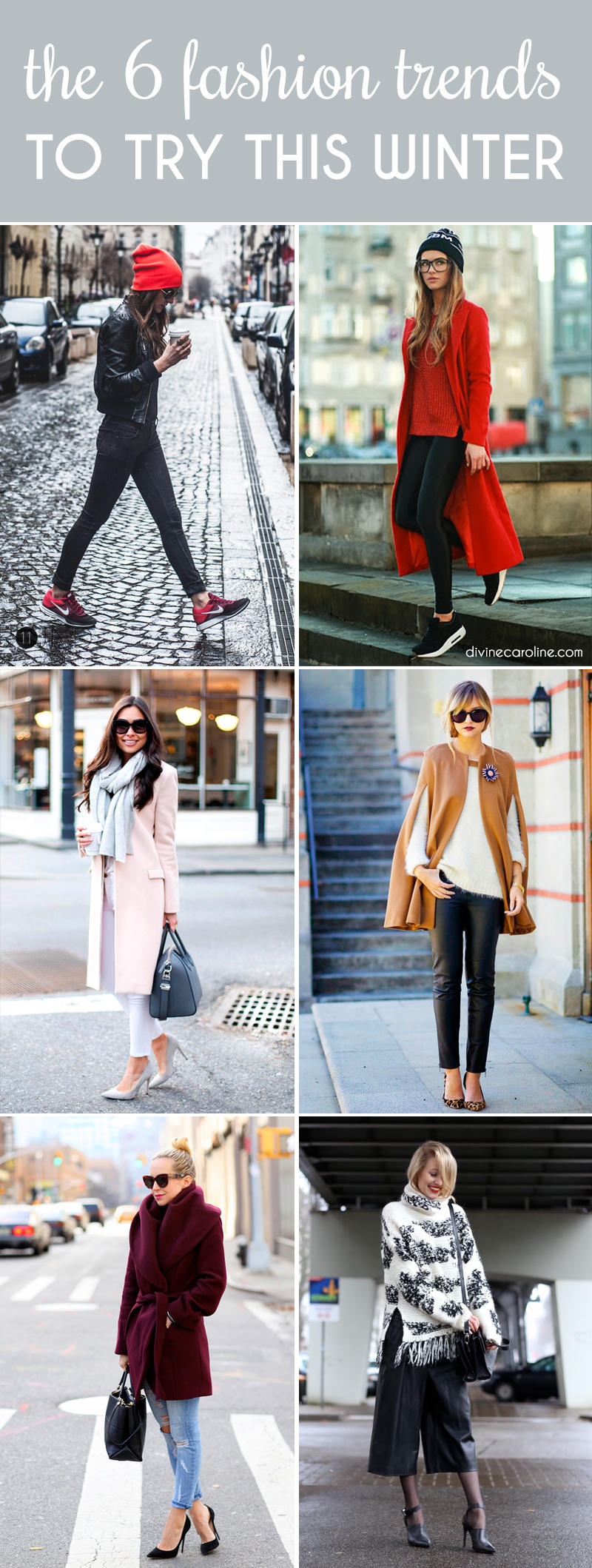Fashion Trends: The Hottest Winter Fashion Trends From Head To Toe