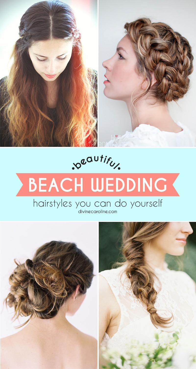 Cool Beautiful Beach Wedding Hairstyles You Can Do Yourself More Com Short Hairstyles For Black Women Fulllsitofus