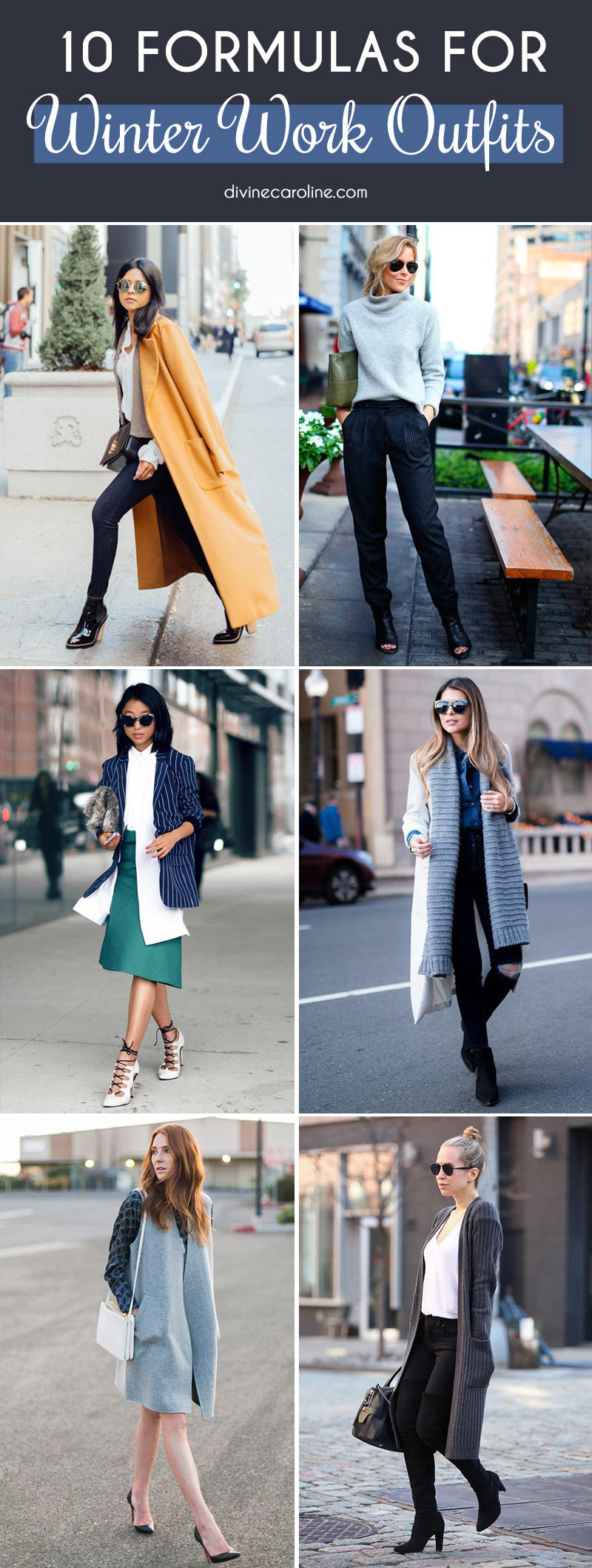10 fail proof formulas for winter work outfits. Black Bedroom Furniture Sets. Home Design Ideas