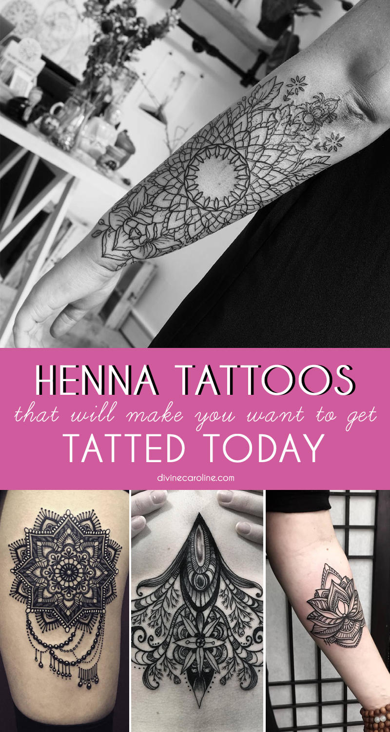 Henna Tattoos Everything You Need To Know 100 Great: 32 Henna Tattoo Designs That Make You Want To Get Tatted