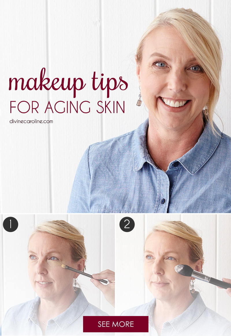 Makeup for aging skin