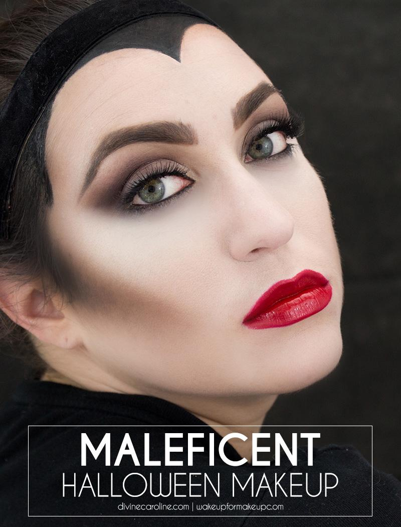 Maleficent Halloween Makeup Howto
