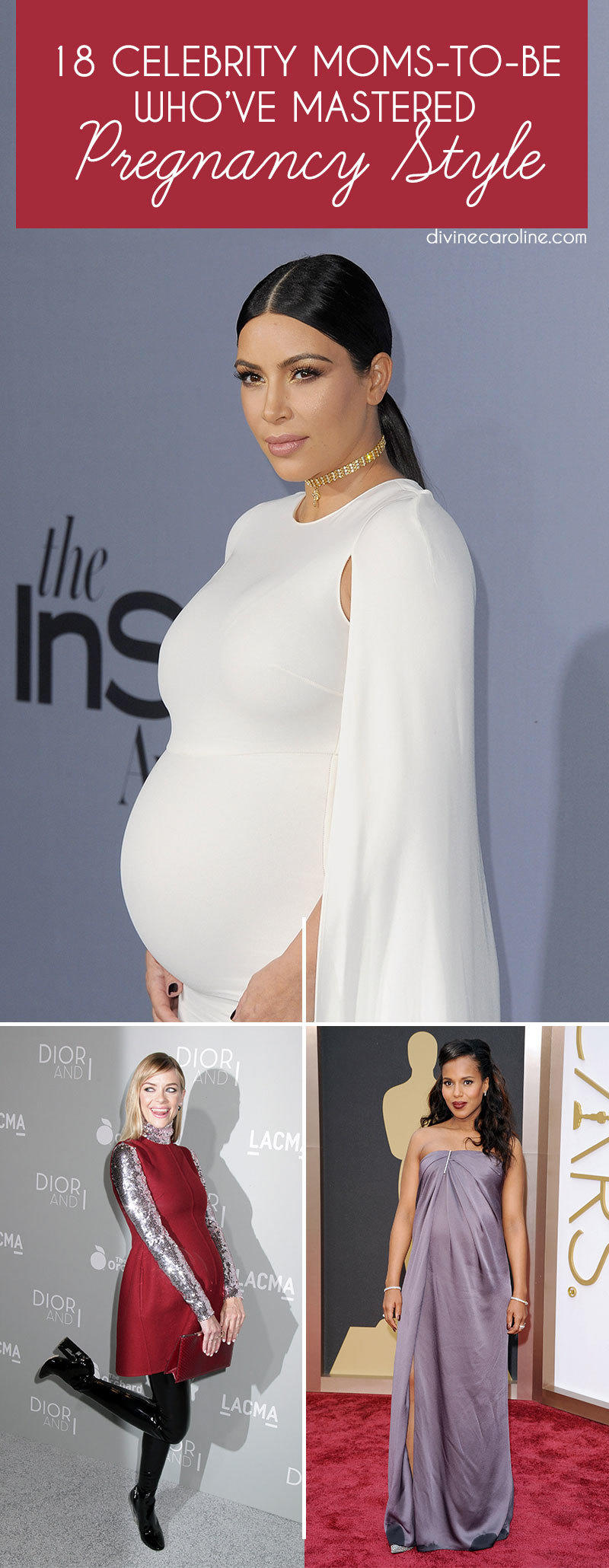 18 Celeb Moms To Be Who 39 Ve Mastered Pregnancy Style