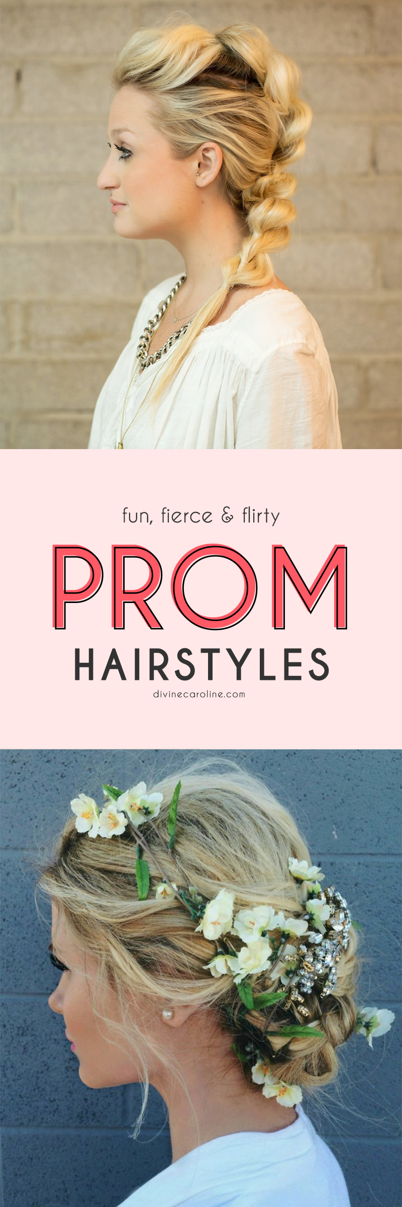 Prom hair for poofy dress