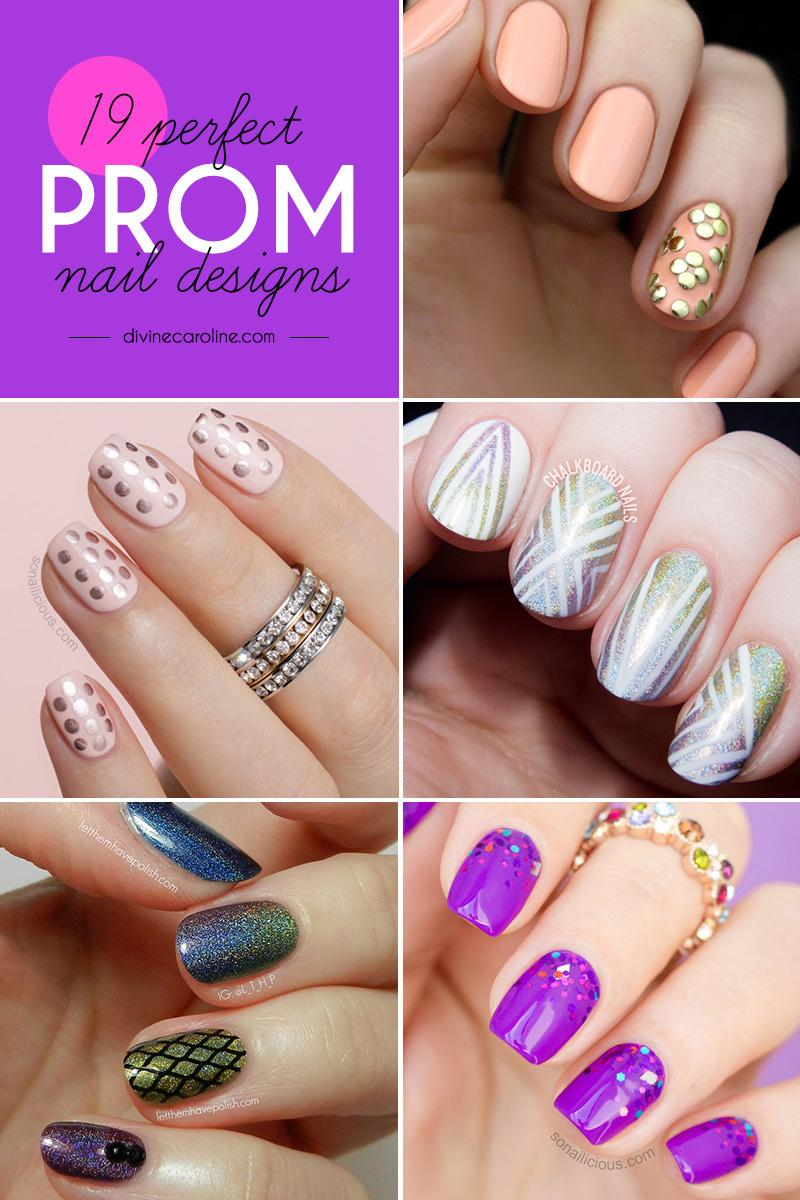 19 ideas for perfect prom nails more prinsesfo Choice Image