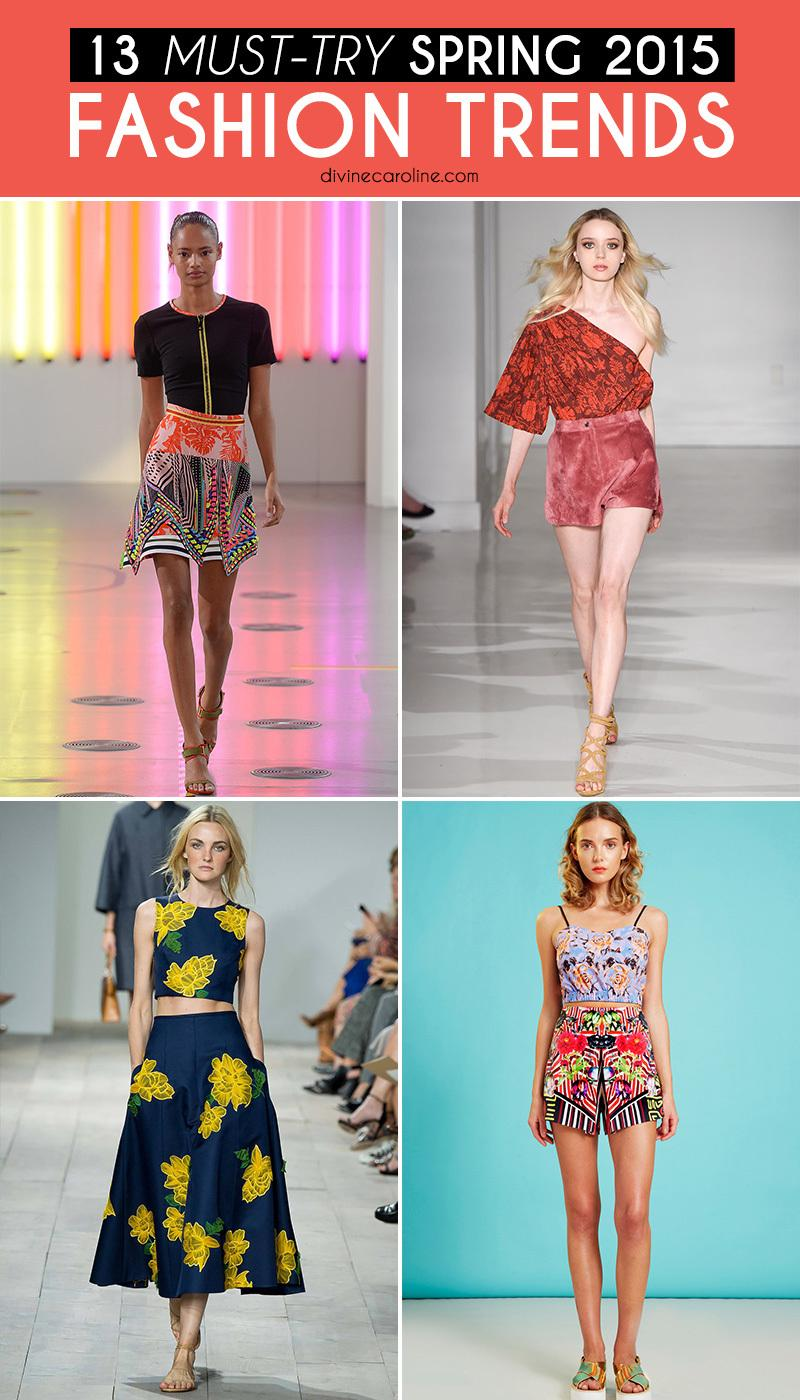 Spring Must Have Items: 13 Must-Try Spring 2015 Fashion Trends