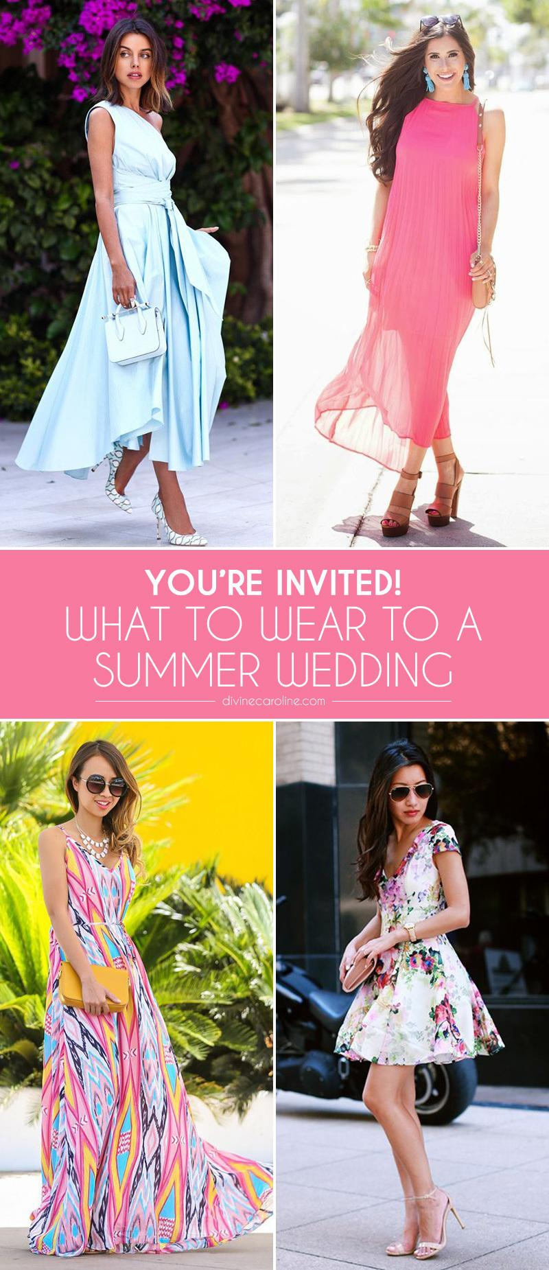 You're Invited! What to Wear to a Summer Wedding | more.com