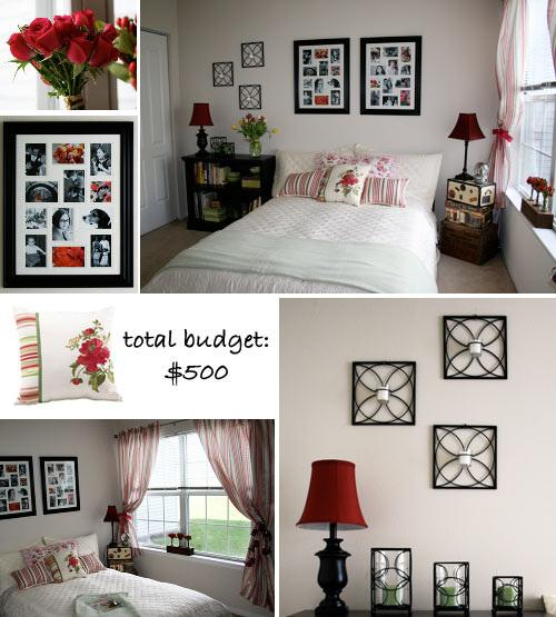 low budget bedroom makeover morecom