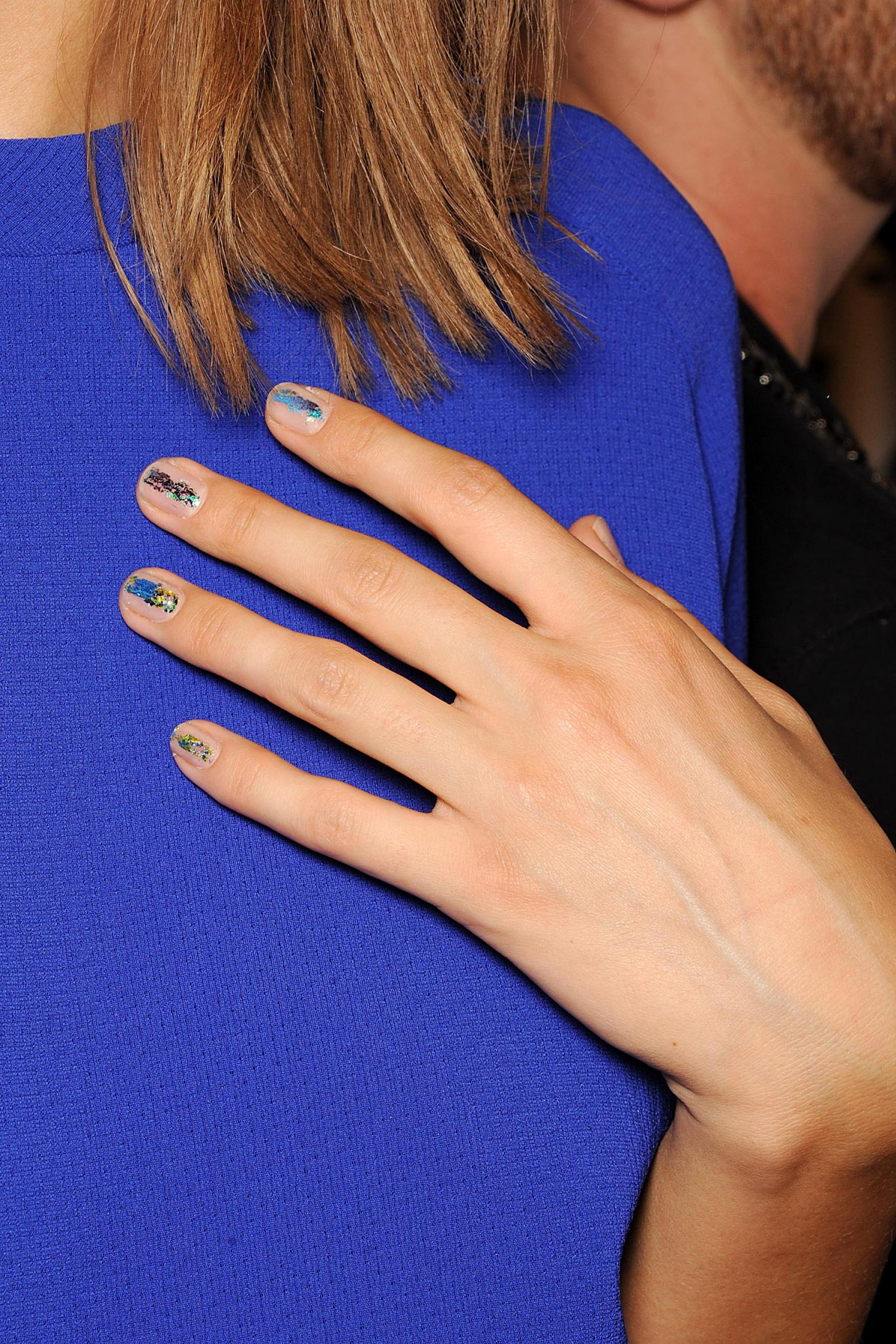 NYFW: Rave-Inspired Nails by butter LONDON on the ICB Runway