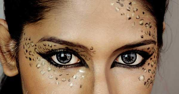 10 fierce halloween cat makeup ideas morecom - Cat Eyes Makeup For Halloween