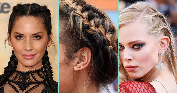The Best Braided Hairstyles To Steal From The Red Carpet