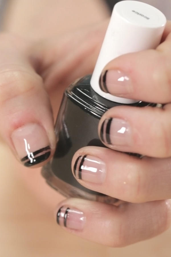 French manicure nail designs beyond boring white tips more prinsesfo Images