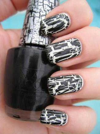 Crackle nail art image collections nail art and nail design ideas pinterests best halloween nail designs more prinsesfo image collections prinsesfo Image collections