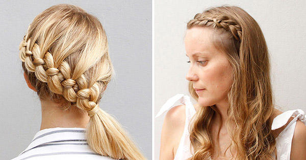 Astonishing Our Best Braided Hairstyles For Long Hair More Com Short Hairstyles Gunalazisus
