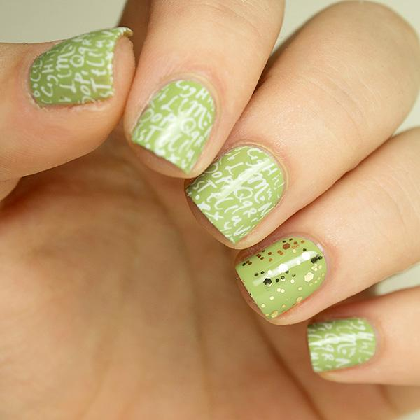 Stamping nail design a creative new nail art technique more prinsesfo Image collections