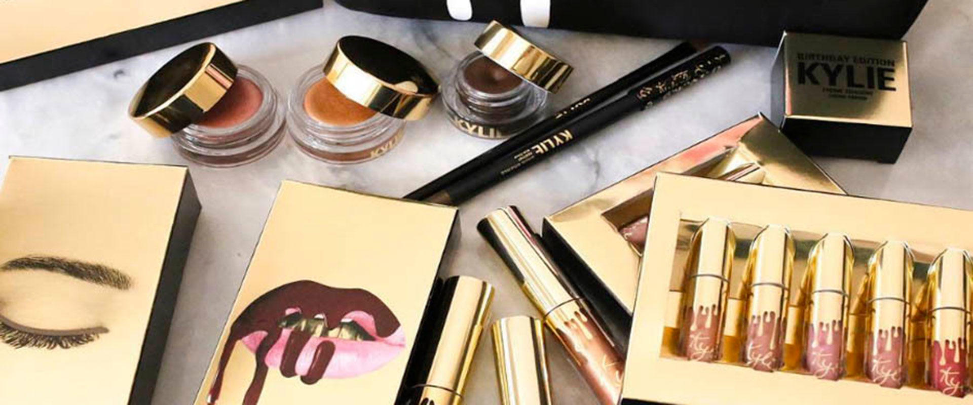 Kylie Jenner Birthday Makeup Collection