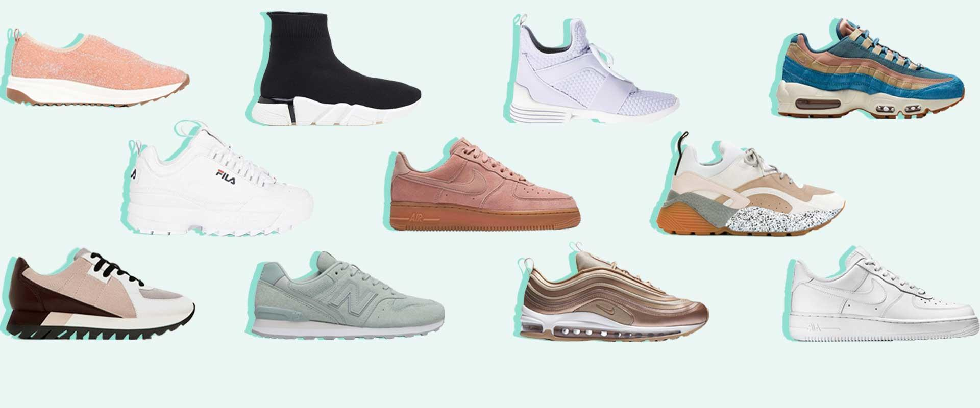 8 Sneaker Trends Every Fashion Girl Will Be Wearing In 2018