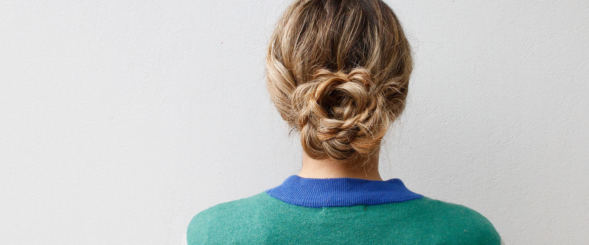 Flower Bun Braid