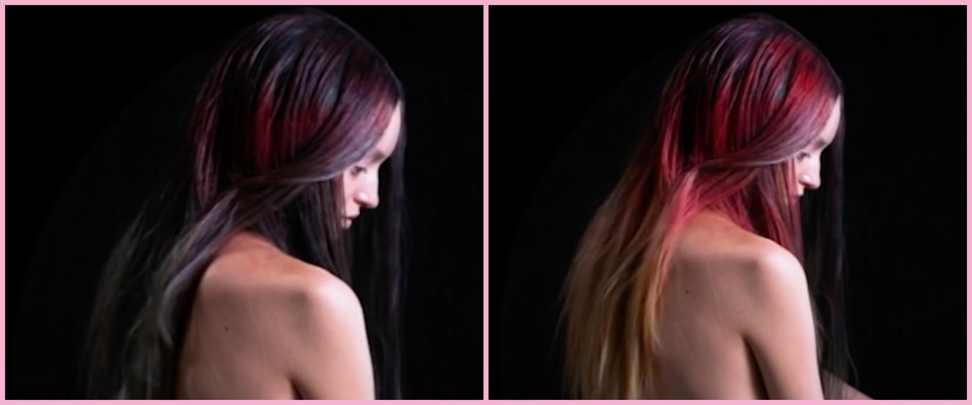 Change hair color on a picture color changing hair dye is a mood ring for your head - Pleasant bathroom designs small bathroom radical change simple remodeling ...