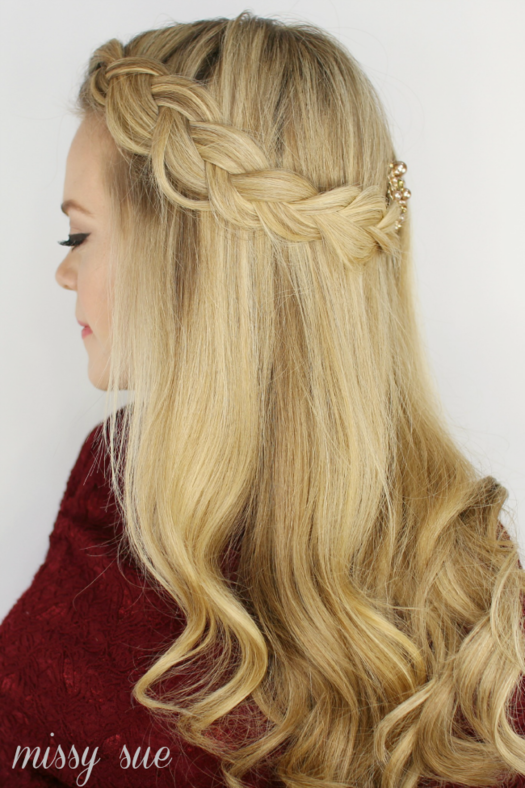 Terrific How To Do An Inside Out Braid Headband Braids Hairstyle Inspiration Daily Dogsangcom