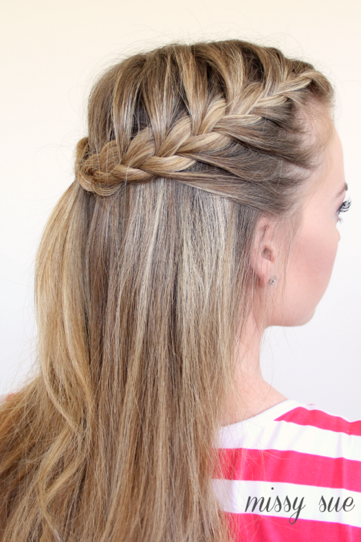 50 Fabulous French Braid Hairstyles to DIY | more.com