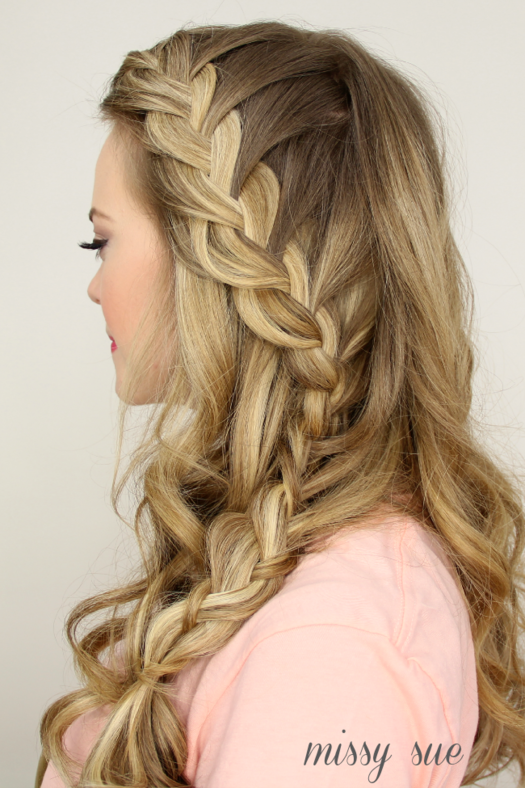 Pleasant 50 Fabulous French Braid Hairstyles To Diy More Com Hairstyle Inspiration Daily Dogsangcom
